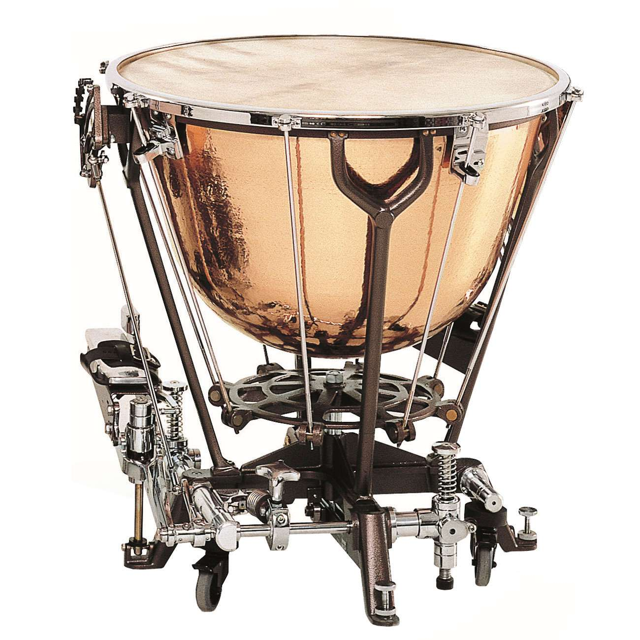 adams 28 philharmonic light timpani with dresden pedal and