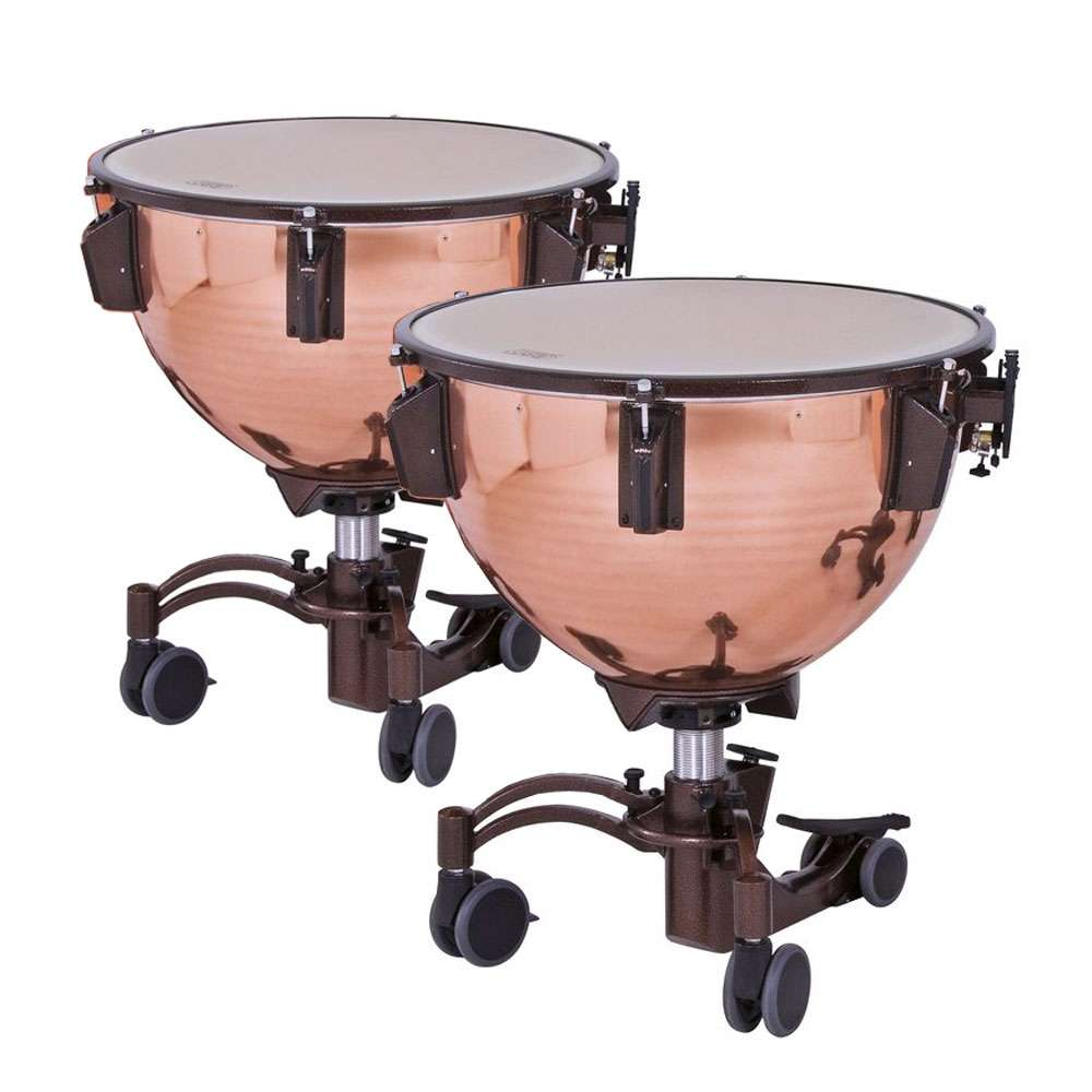 "Adams 26/29"" Revolution Polished Copper Timpani with Fine Tuners"