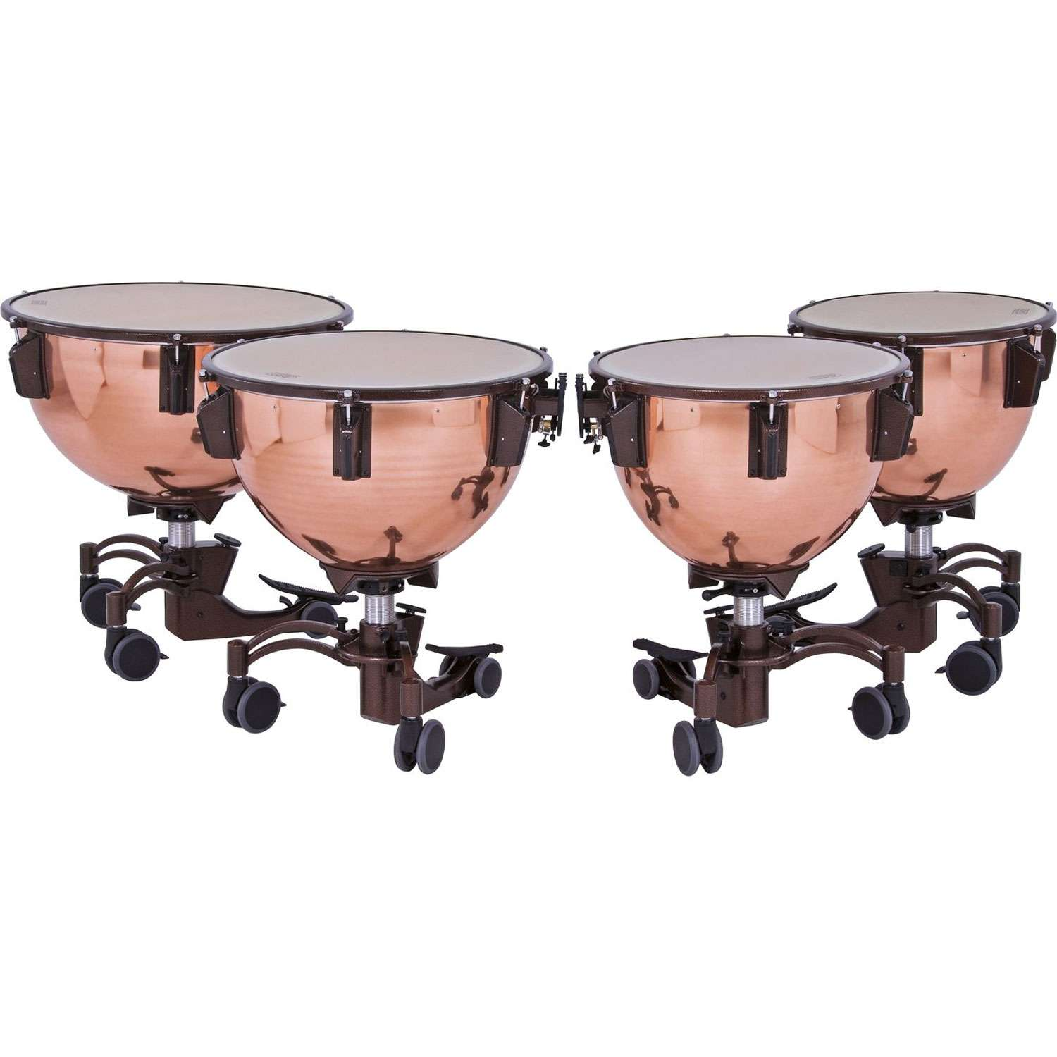 "Adams 23/26/29/32"" Revolution Polished Copper Timpani"
