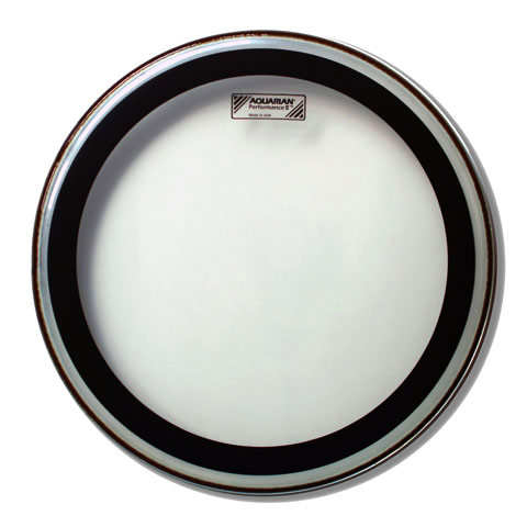 "Aquarian 18"" Performance II Clear Head"