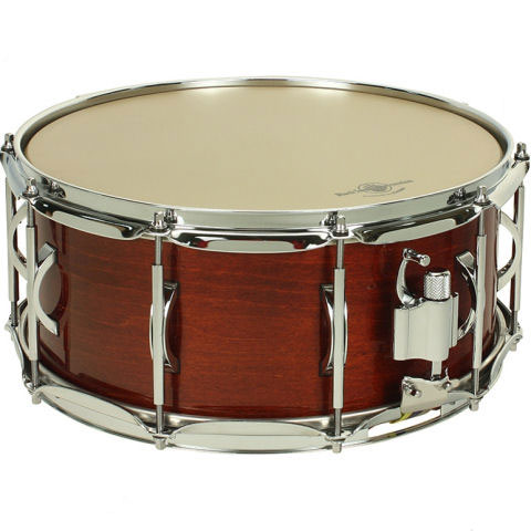 "Black Swamp 6.5"" x 14"" Pro10 Studio 15-Ply Maple Concert Snare Drum"