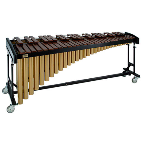 Bergerault 4.3 Octave Padouk Marimba on Performance Frame