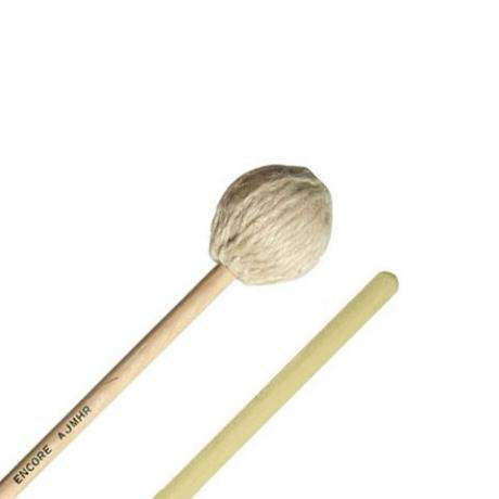 Encore AJMR Allen Joanis Signature Medium Marimba Mallets with Rattan Shafts