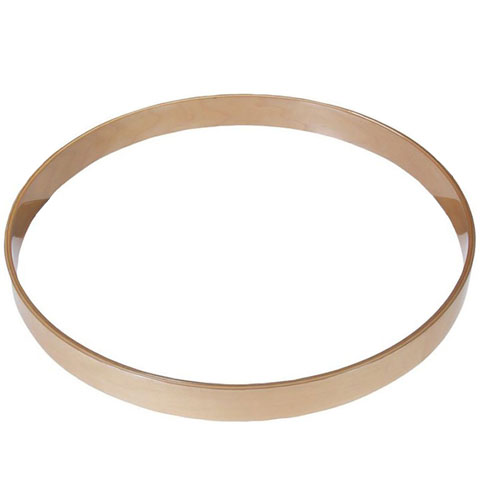 "Gibraltar 8"" Natural Maple Bass Drum Hoop"