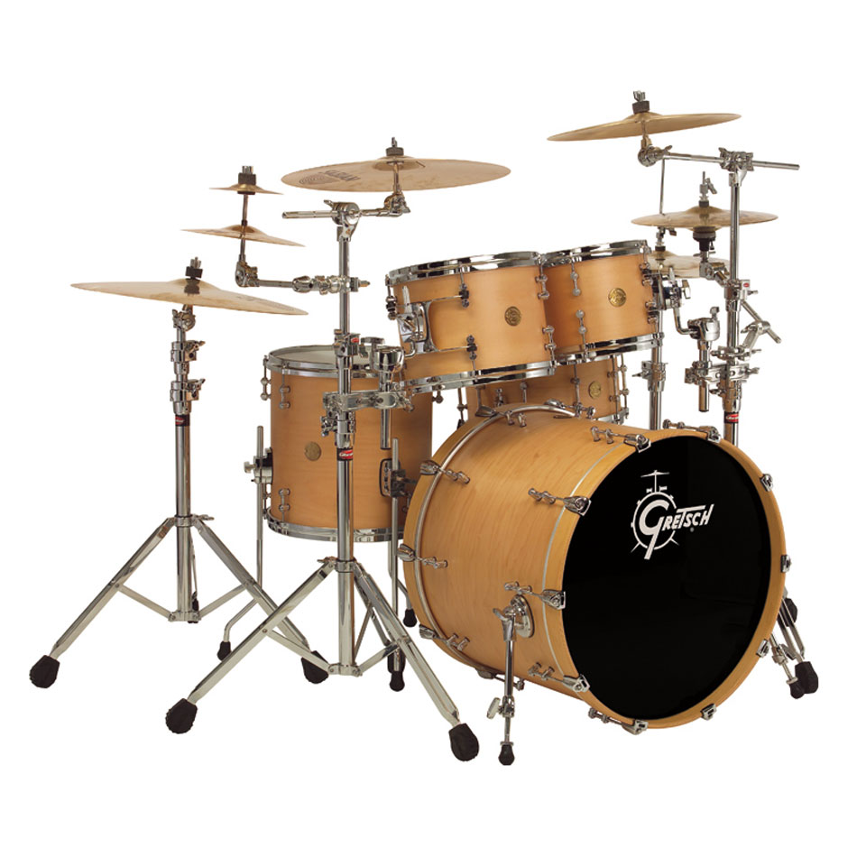"Gretsch New Classic Groove 4-Piece Drum Set Shell Pack (20"" Bass, 10/12/14"" Toms)"