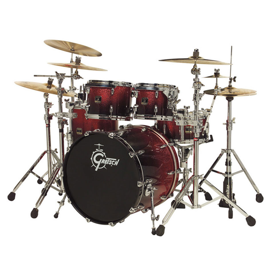 gretsch renown maple fusion 4 piece drum set shell pack 20 bass 10 12 14 toms rn f604. Black Bedroom Furniture Sets. Home Design Ideas