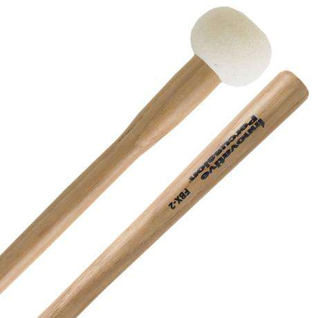 Innovative Percussion FBX-2 Field Series Tapered Handle Marching Bass Drum Mallets