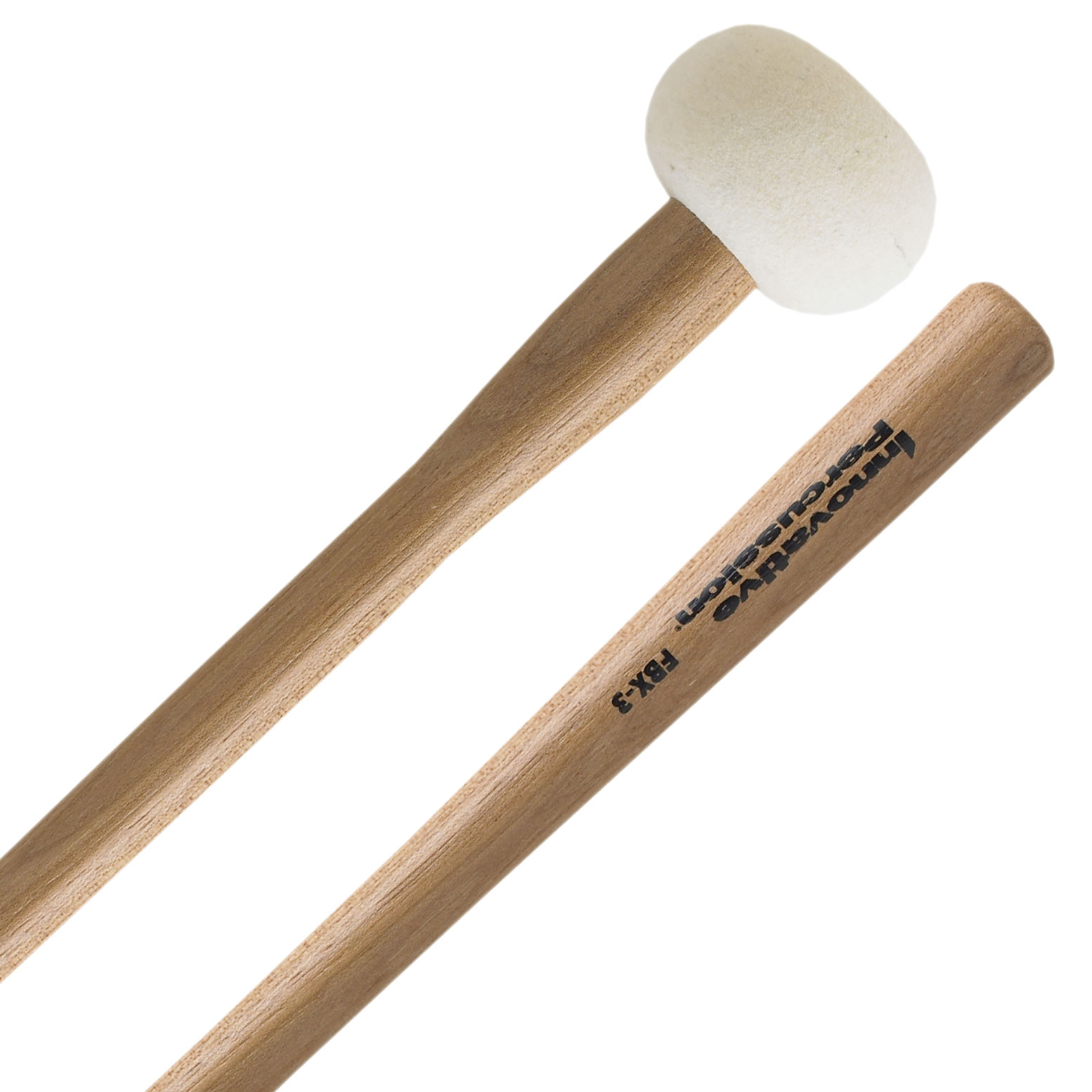 Innovative Percussion FBX-3 Field Series Tapered Handle Marching Bass Drum Mallets