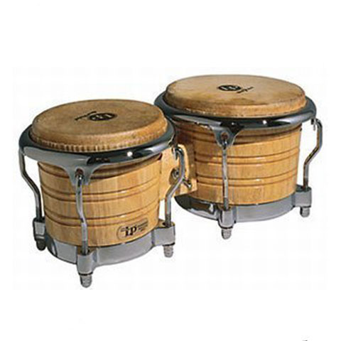 LP Generation II Bongos with Traditional Rims