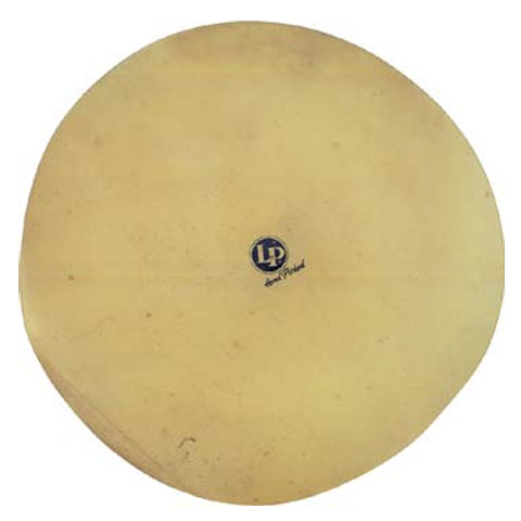 "LP 20"" Deluxe Rawhide Unmounted Conga Drum Head"