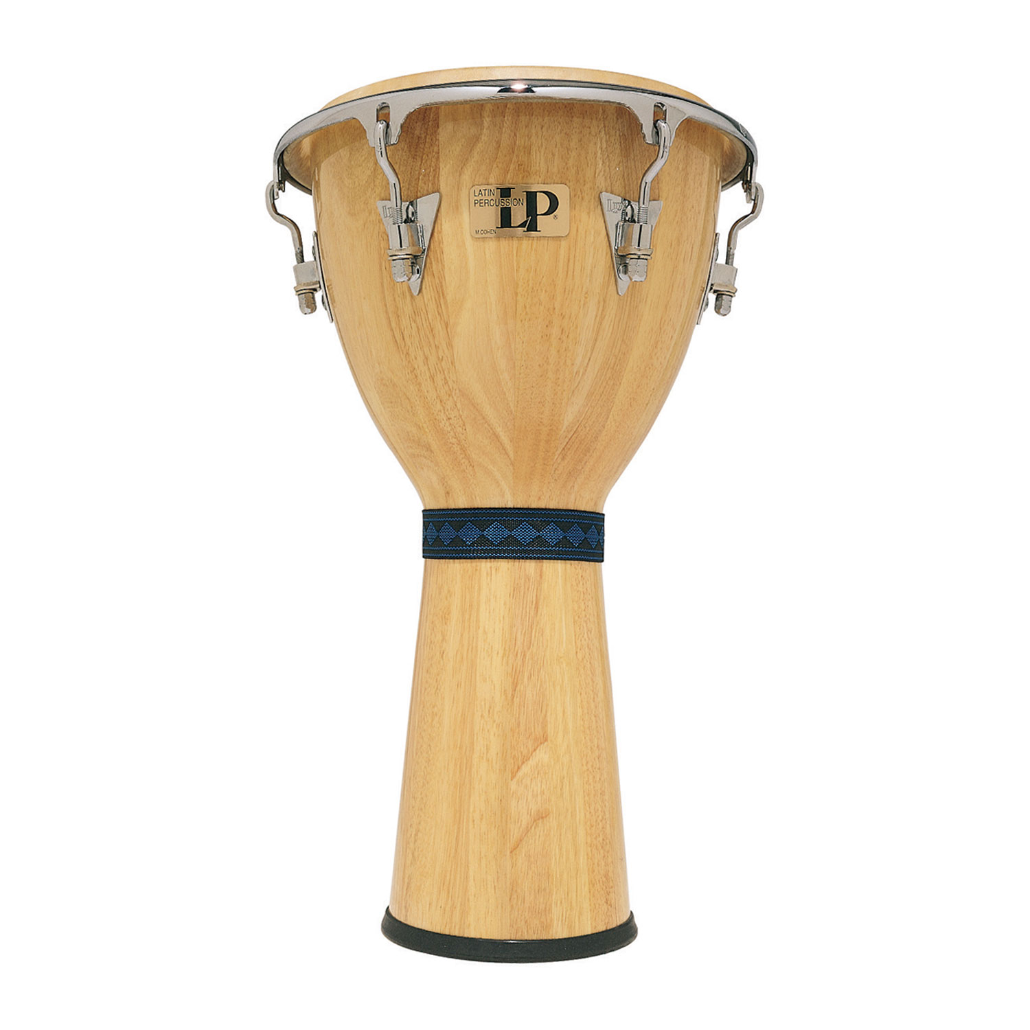 "LP 12 1/2"" Natural Djembe with Comfort Curve Rims"