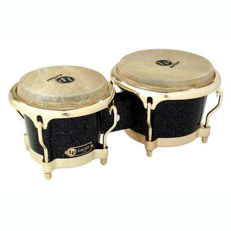 LP Galaxy Fiberglass Bongos with Gold Hardware
