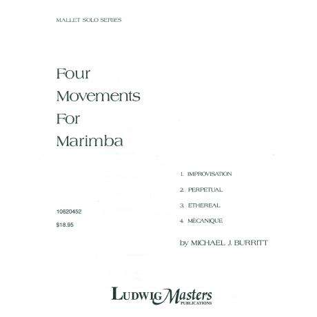 Four Movements for Marimba by Michael Burritt