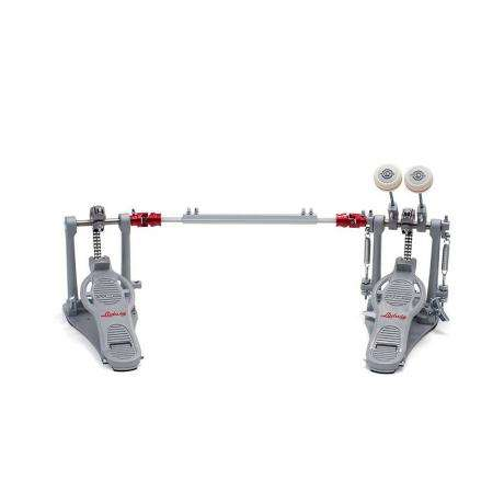 Ludwig Atlas Pro Double Bass Pedal with Rock Plate