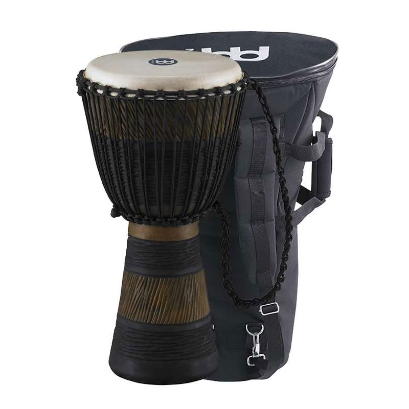 "Meinl 10"" Earth Rhythm Series Rope-Tuned Djembe with Bag"