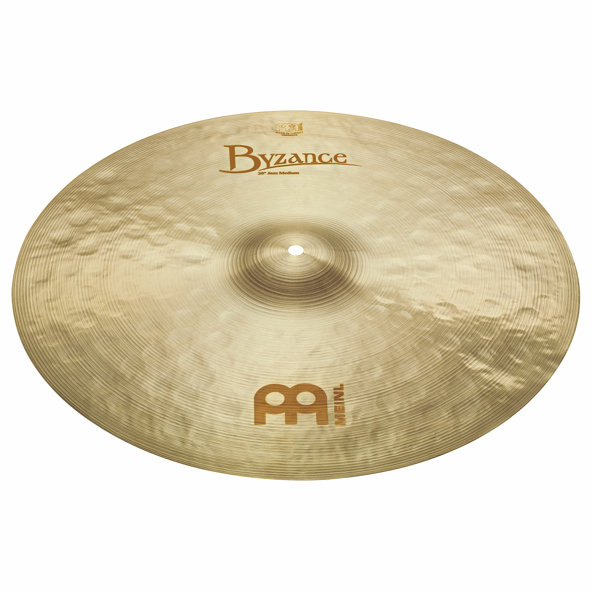 "Meinl 22"" Byzance Brilliant Jazz Medium Ride Cymbal"