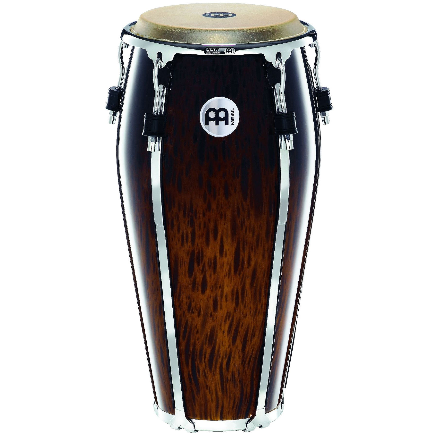 "Meinl Nino 10"" Floatune Conga in Brown Burl"