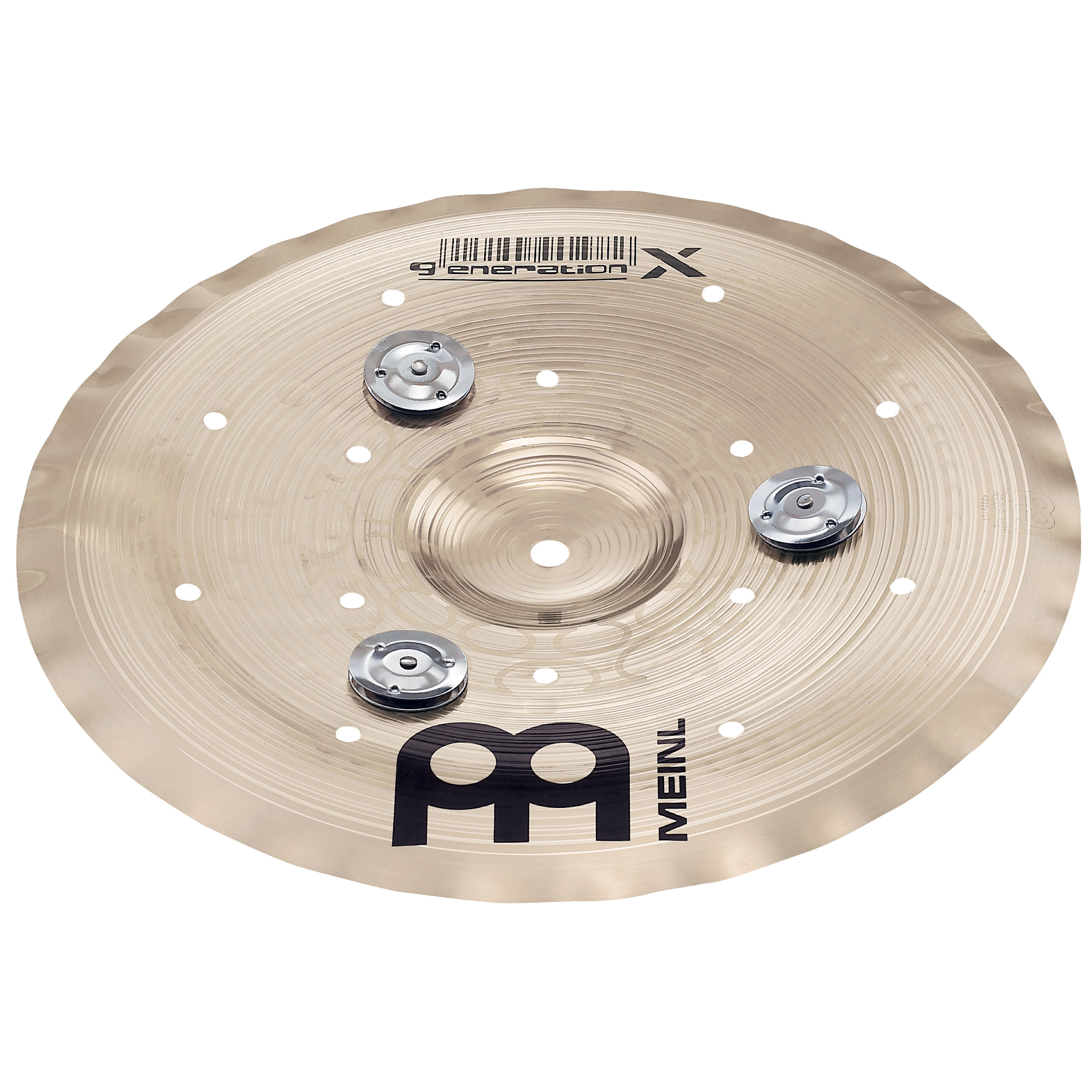 "Meinl 10"" Generation X Jingle Filter China Cymbal"