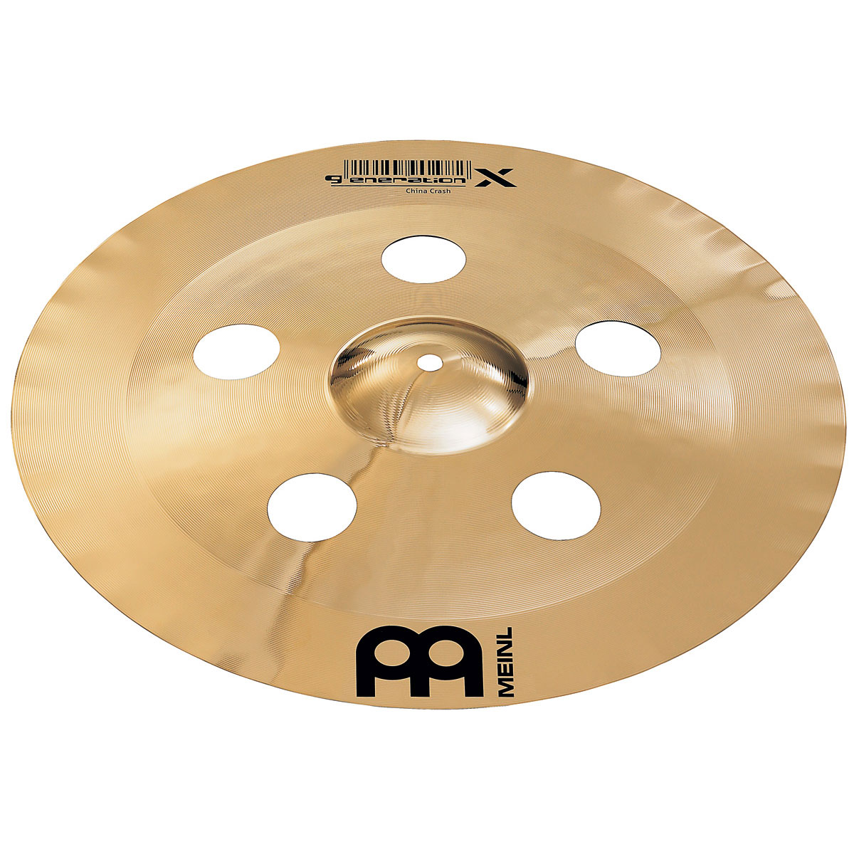"Meinl 19"" Generation X China/Crash Cymbal"