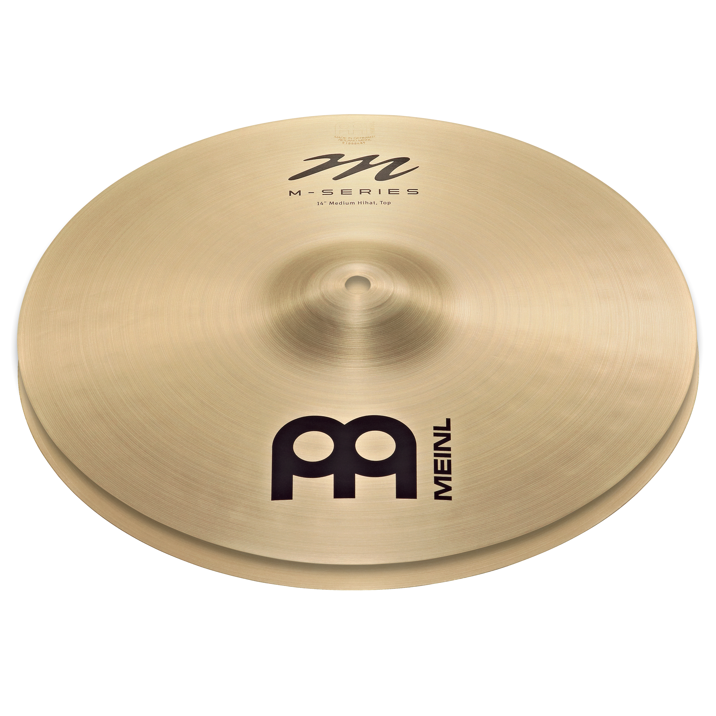 "Meinl 14"" M Series Medium Hi Hat Cymbals"