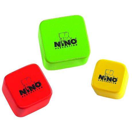 Meinl Nino Wood Square Shaker Set