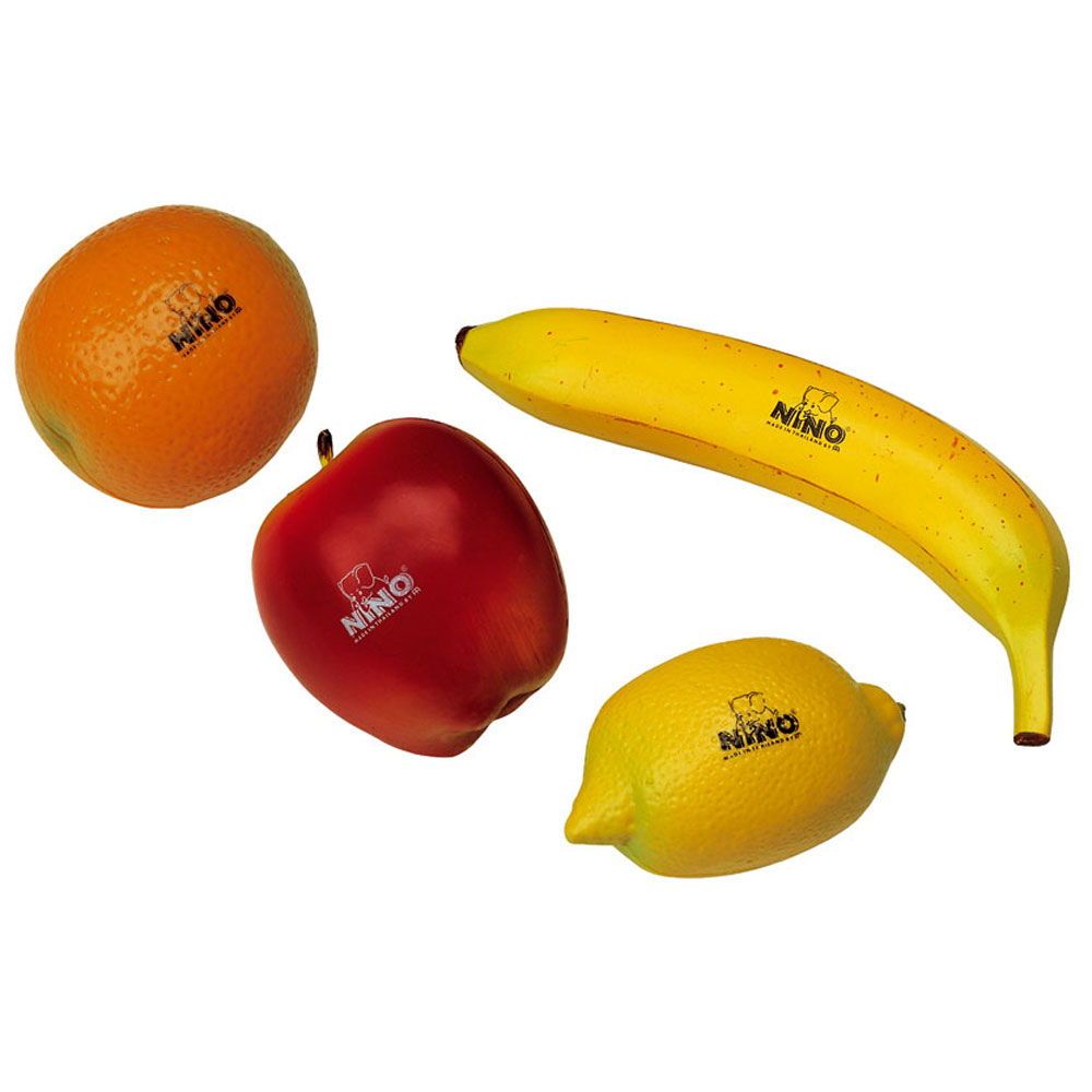Meinl Nino 4 Piece Fruit Shaker Set
