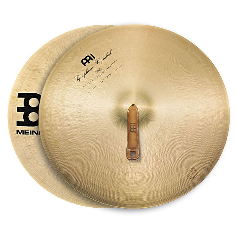 "Meinl 16"" Thin Symphonic Crash Cymbal Pair"
