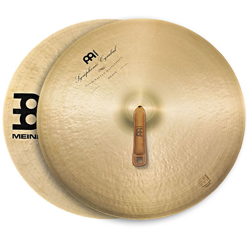 "Meinl 18"" Heavy Symphonic Crash Cymbals Pair"