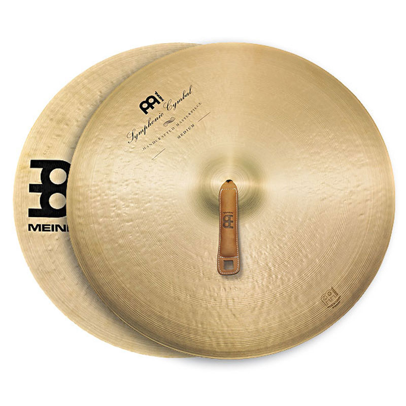 "Meinl 22"" Medium Symphonic Crash Cymbals Pair"