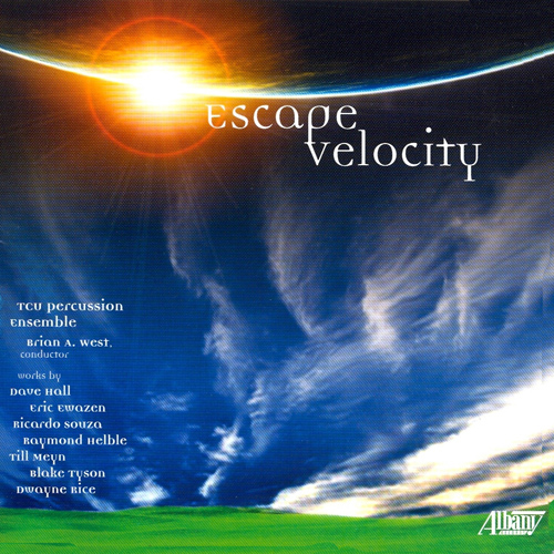 Escape Velocity by the TCU Percussion Orchestra (CD)