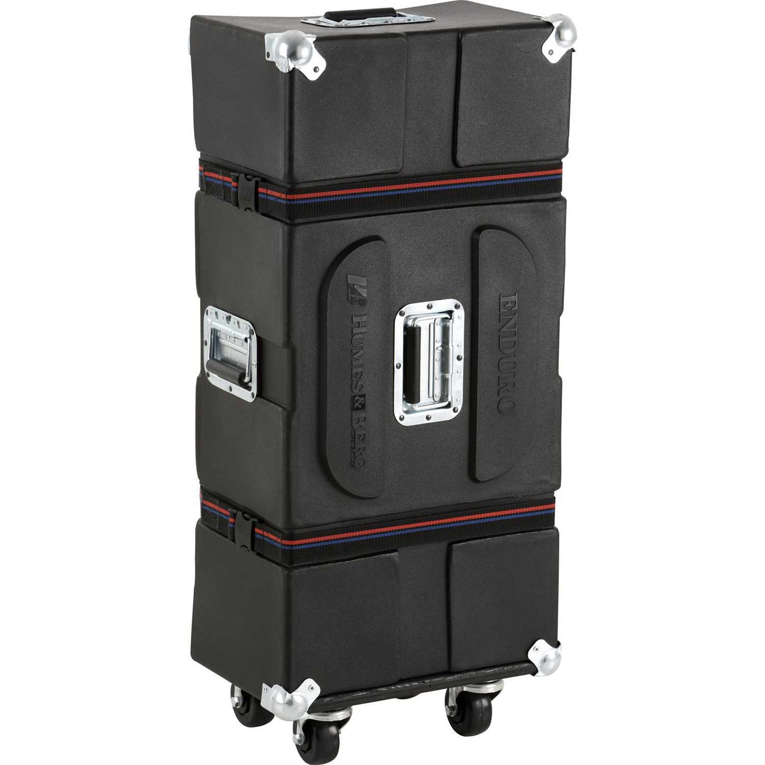 "Humes & Berg 36"" x 14.5"" x 9"" Enduro Small Stand Hardware Case with Wheels"