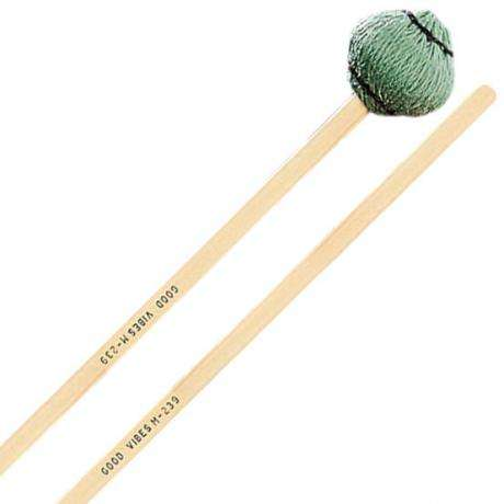 Musser Good Vibes Green Vibraphone Mallets - Set of 4