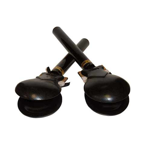 "Epstein 2 3/4"" ""Low"" Large Grenadillo Castanets"