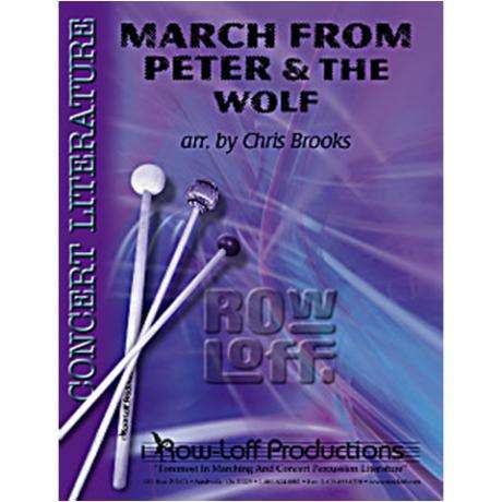 March' from Peter and the Wolf by Prokofiev arr. Brooks