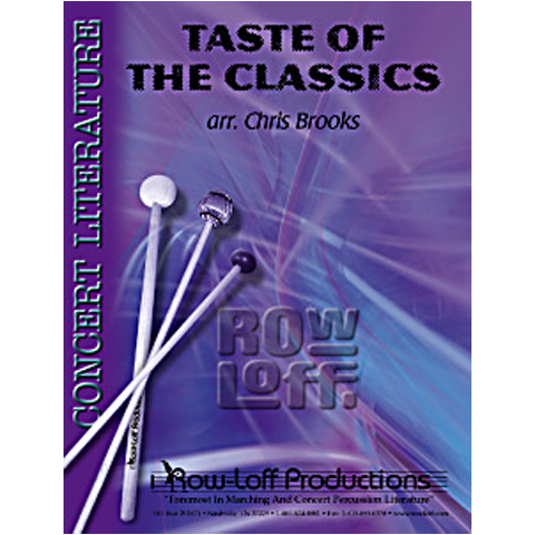 A Taste of the Classics arr. by Chris Brooks