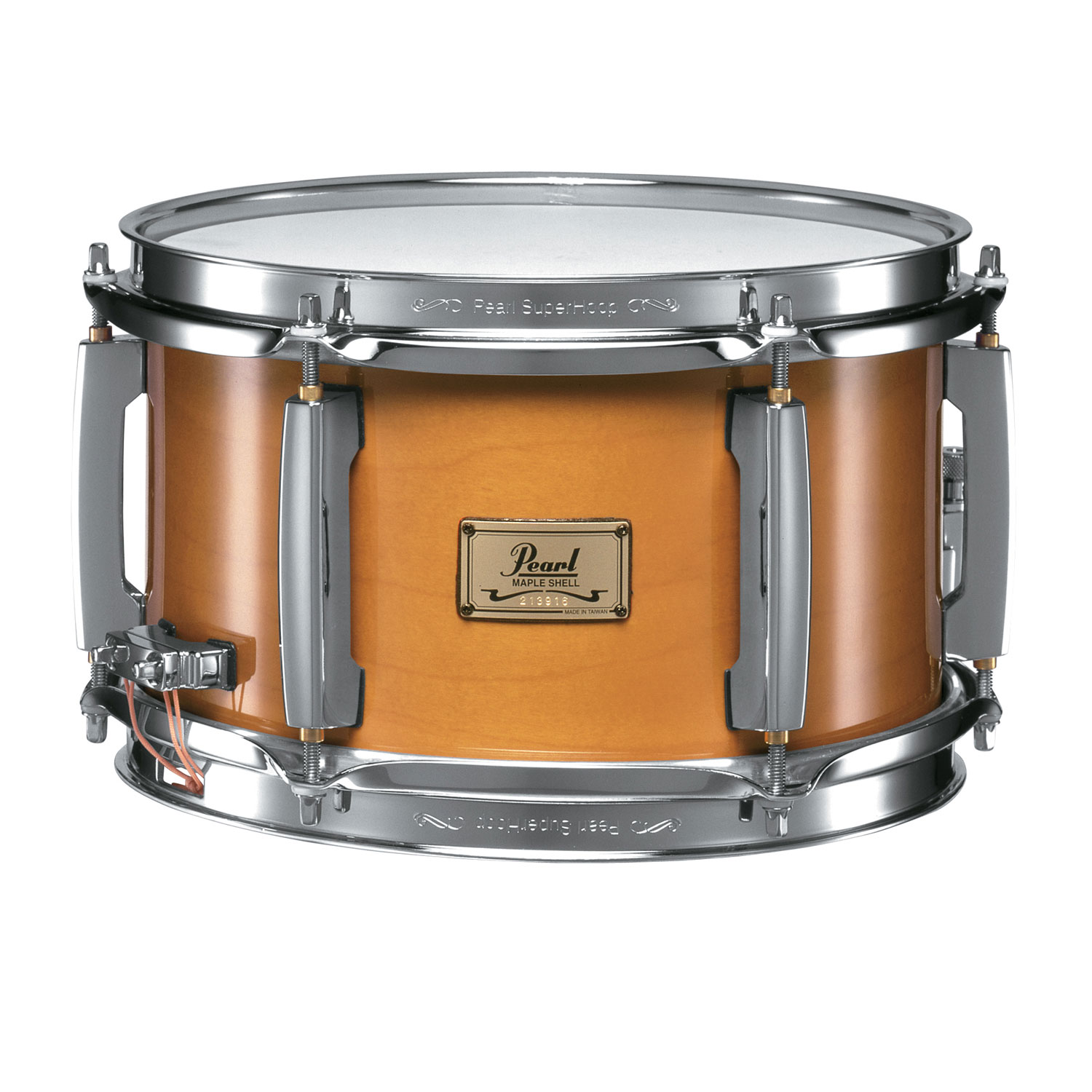 "Pearl 10"" x 6"" Maple Popcorn Snare Drum"
