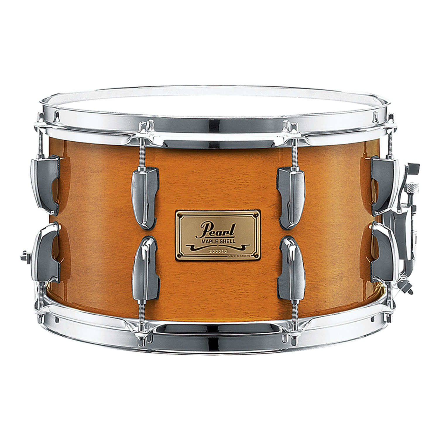 "Pearl 12"" x 7"" Maple Soprano Snare in Liquid Amber"