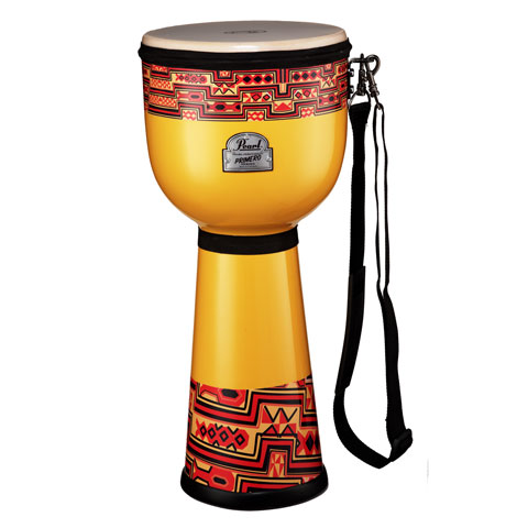 "Pearl 9 1/4"" Light Weight Fiberglass Djembe Fun Drum"