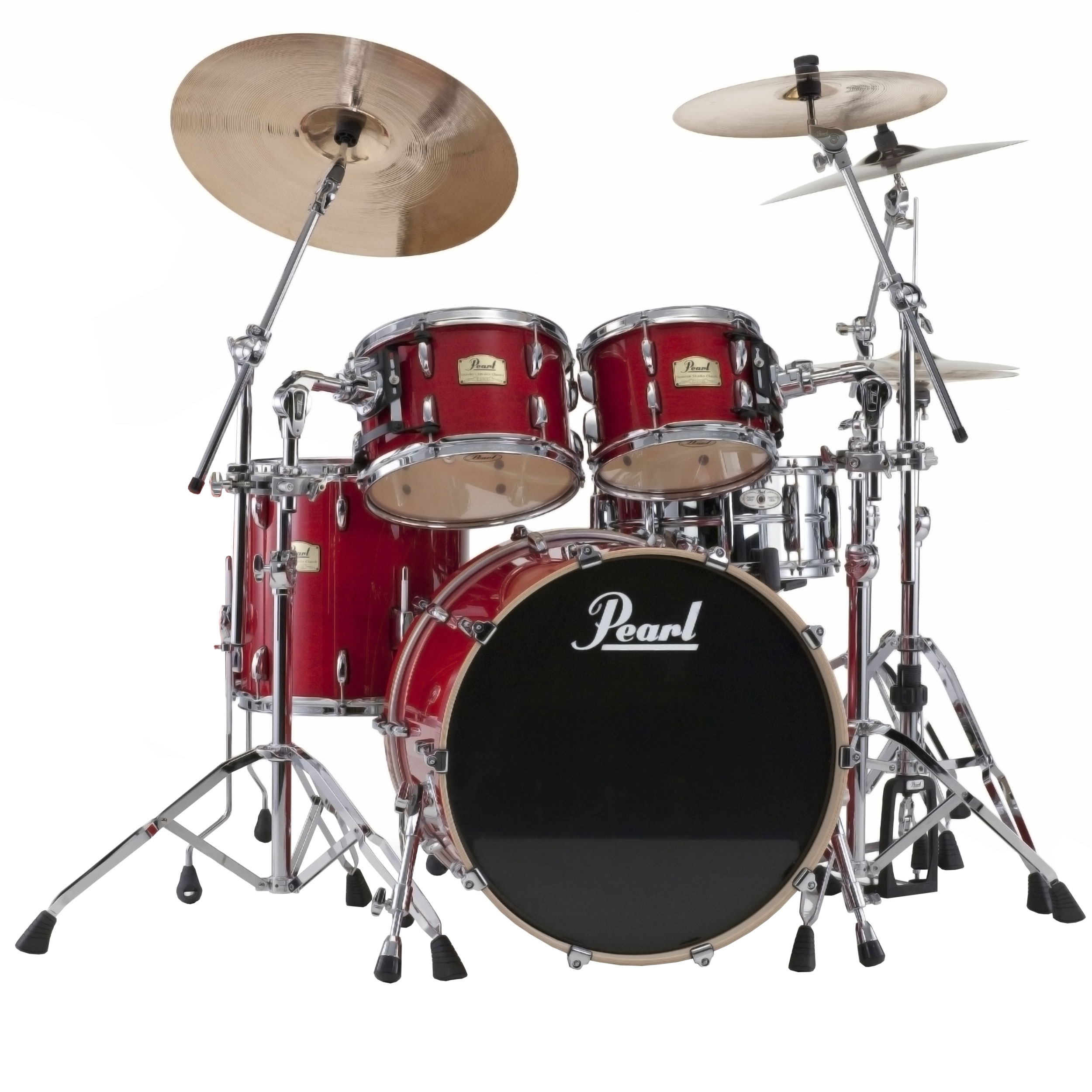 Pearl Session Studio Classic 4-Piece Drum Set Shell Pack ...