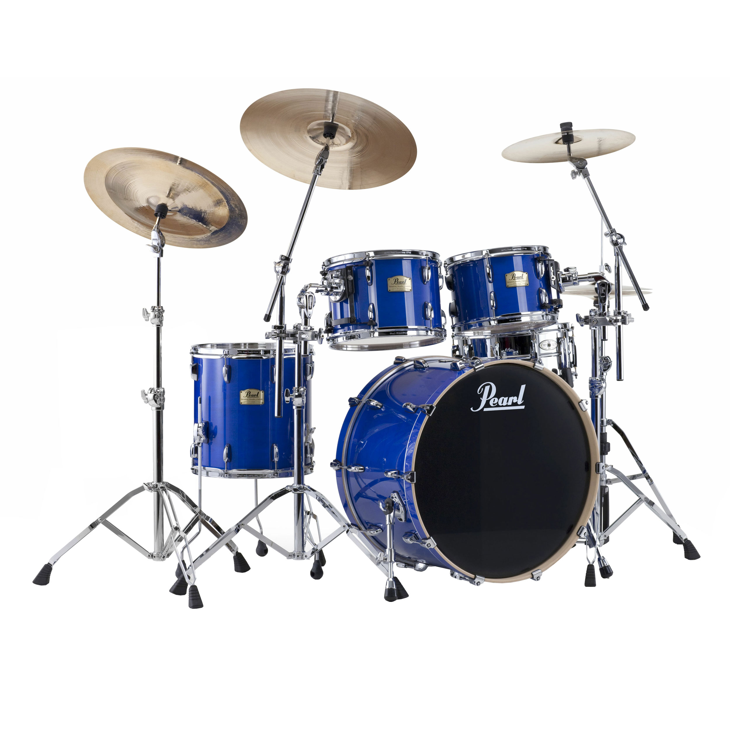 pearl studio session 4 piece drum set shell pack 22 bass 10 12 16 toms ssc924xup. Black Bedroom Furniture Sets. Home Design Ideas