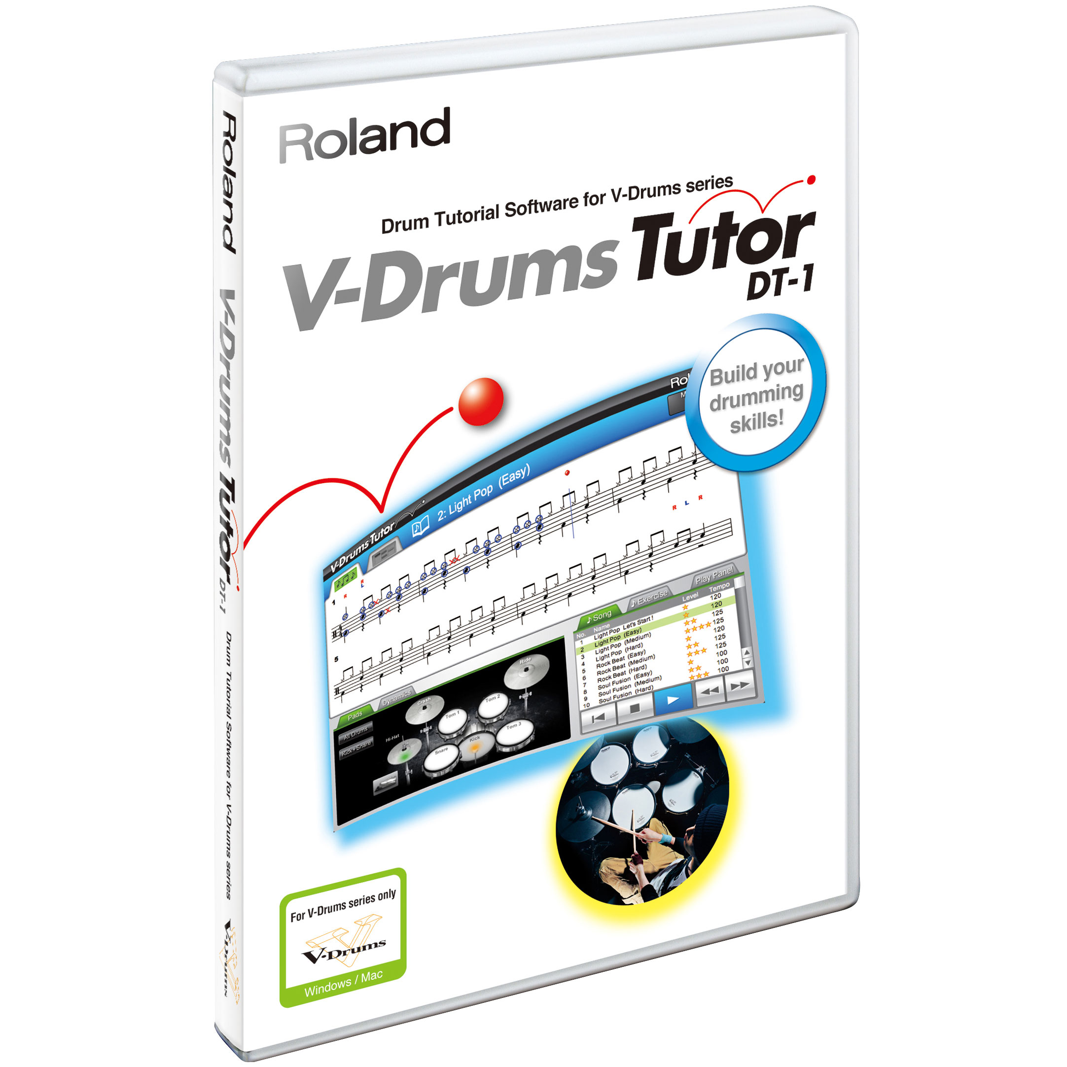 Roland V-Drums Tutor DVD