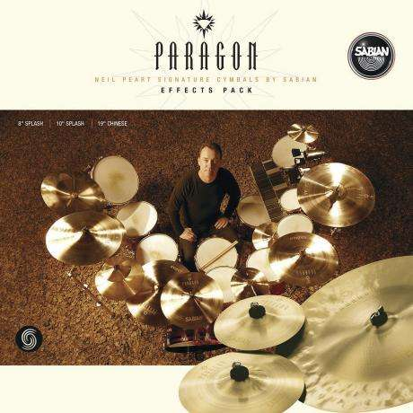 Sabian Paragon Neil Peart Effects Pack 3-Piece Cymbal Box Set (2 Splashes, China)
