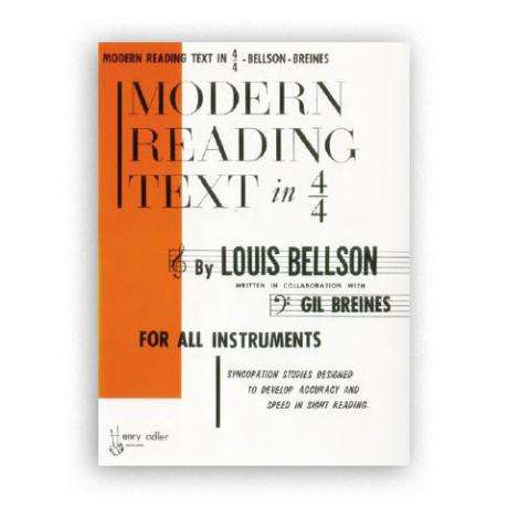 Modern Reading Text in 4/4 by Louis Bellson