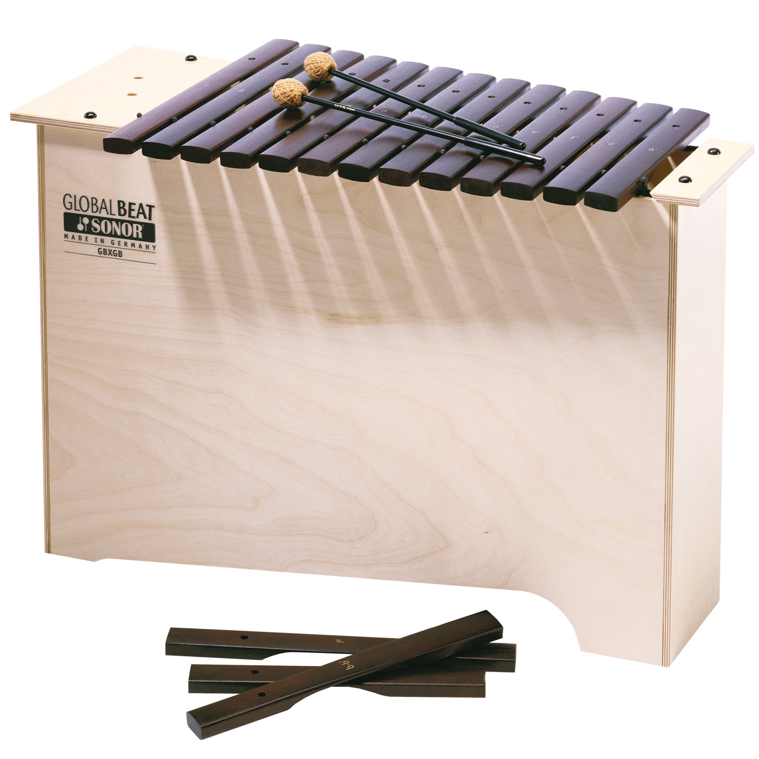 Sonor Orff Global Beat Sucupira Bass Diatonic Xylophone