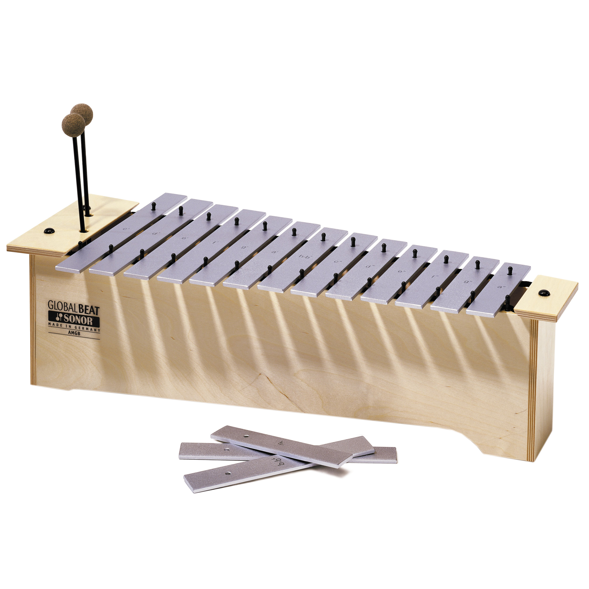 Sonor Orff Global Beat Bass Diatonic Metallophone