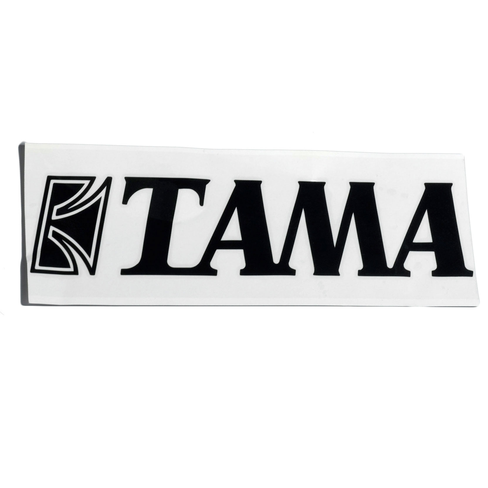 "Tama Black Logo Decal for 24"" - 30"" Bass Drums"