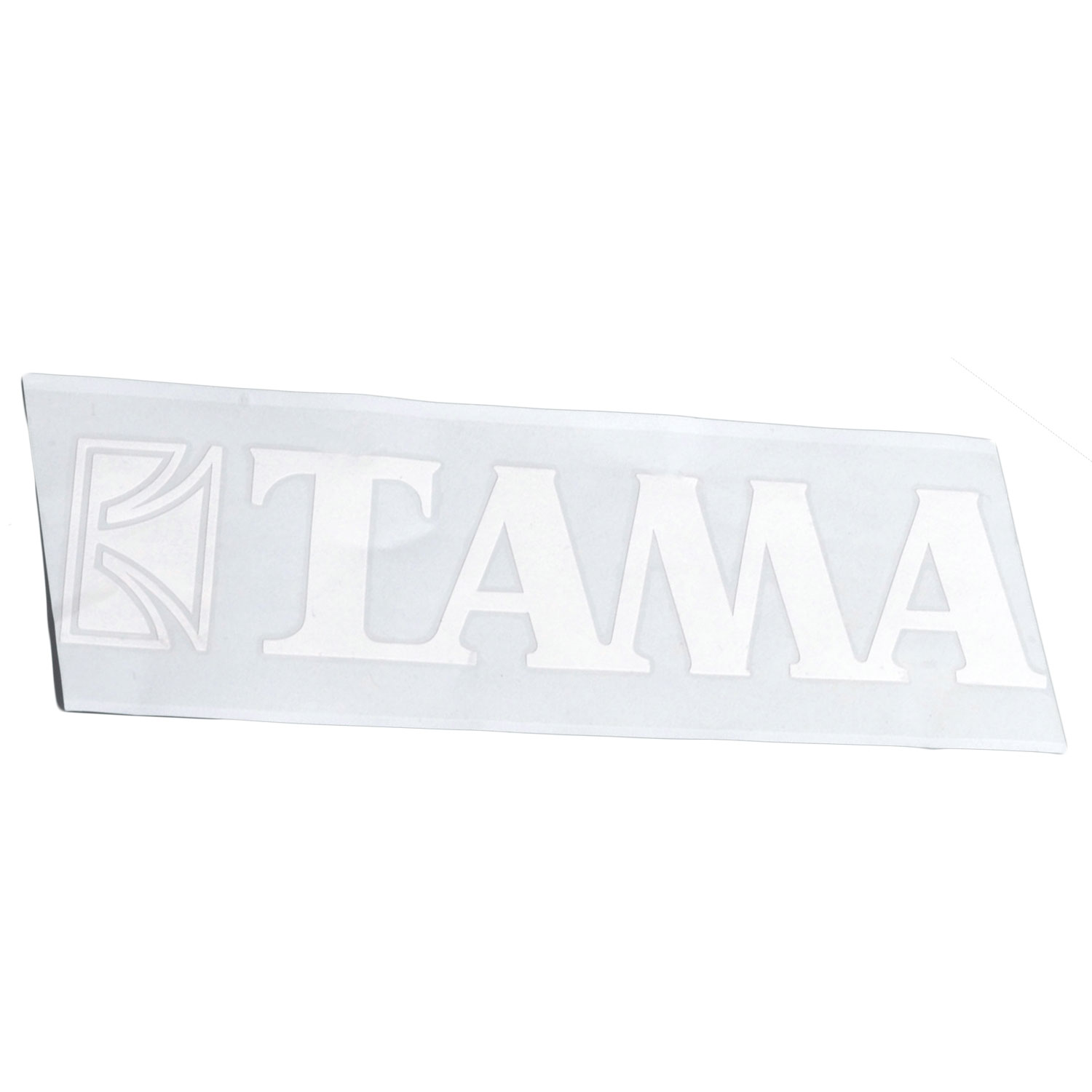 "Tama White Logo Sticker for 24"" Bass Drum"