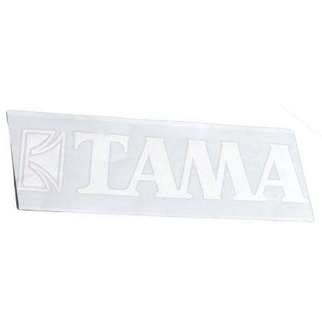 Tama White Logo Sticker for 24