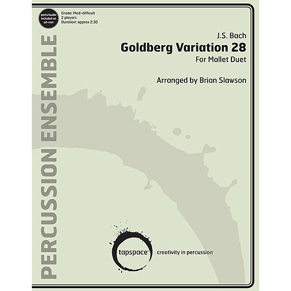 Goldberg Variation 28 by J.S. Bach arr. Brian Slawson