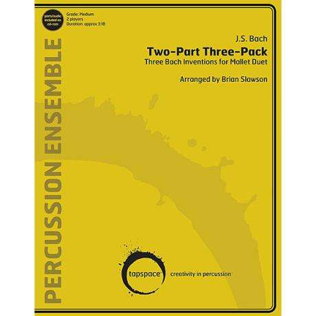 Two-Part Three-Pack by J. S. Bach arr. Brian Slawson